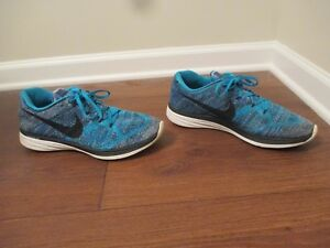 purchase cheap d1414 5833f Image is loading Used-Worn-Size-12-5-Nike-Flyknit-Lunar-