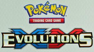 Reverse Holo XY Evolutions Pokemon Near Mi 74/108 Uncommon 4X Brock's Grit