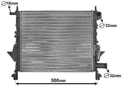 Radiateur moteur refroidissementRenault Moteur Refroidisseuréchangeur De Chaleur Refroidisseur Refroidissement Refroidir