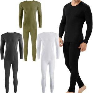 cbf1f74ec0d3 pour hommes THERMIQUE Caleçon long pantalon bas Sous-vêtement Hiver ...