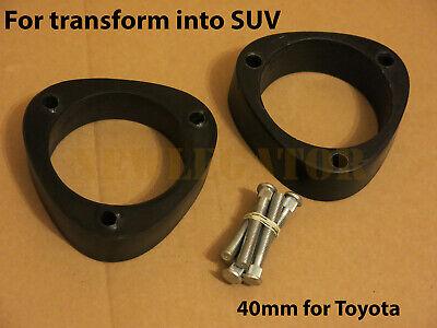 Front strut spacers 40mm for Toyota Avanza Celica Corolla Prius Rush CAMI Lift