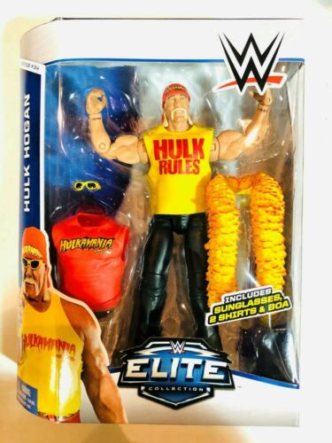 WWE WWF Elite Collection HULK HOGAN Figure Mattel 2014