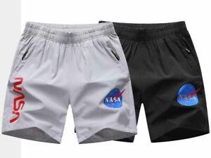 Verano-para-hombre-Sports-Running-Secado-rapido-Casual-Bolsillos-Pantalones-cortos-de-playa-de-gran