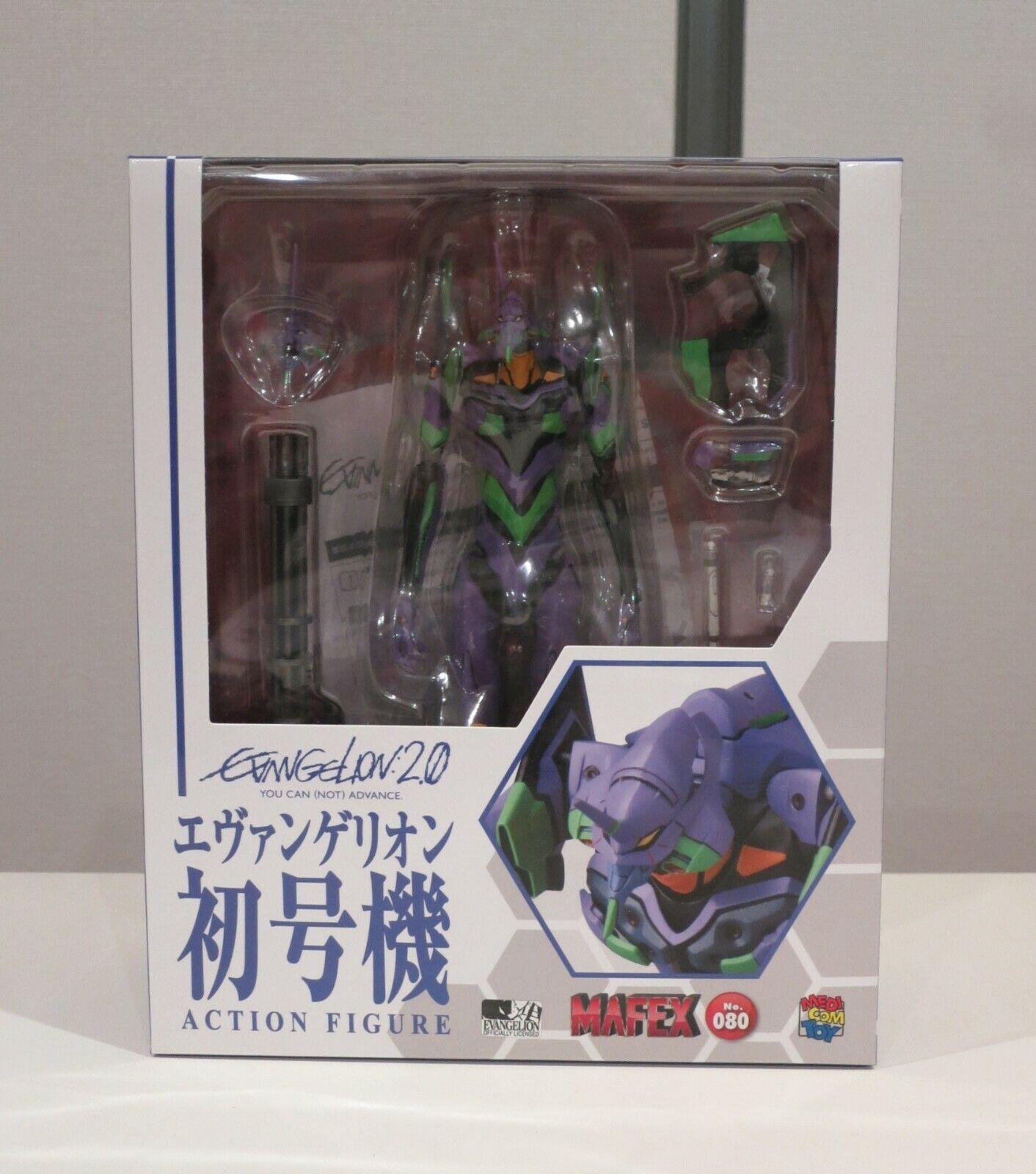 Medicom Mafex No. 80 Evangelion 2.0 Eva-01 toy figure complete