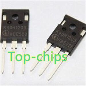5pcs-IKW40N120H3-K40H1203-40A-1200V-Transistor-bipolare-a-gate-isolato