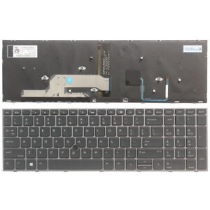 New Laptop US Keyboard for Dell V147125BS1 PK1313P2B00 Frame W//Backlit