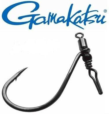 Bass Weedless Gamakatsu Swivel Shot Drop Shot Perch Zander - Pike pack of 3