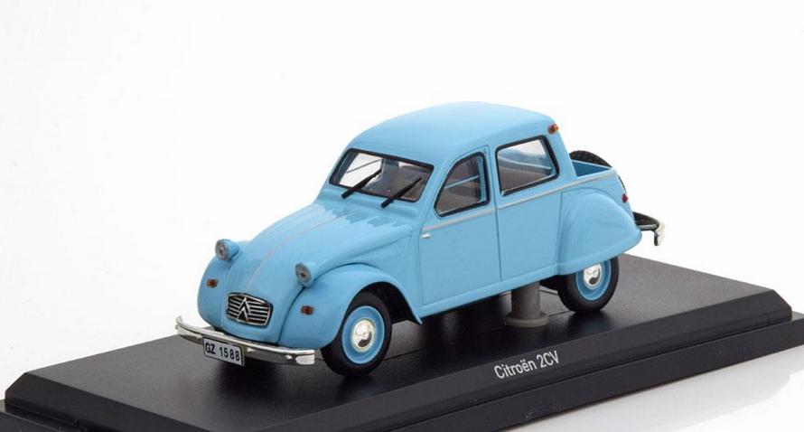 Citroen 2CV Citroneta 1963 bleu 1 43 151397 Norev