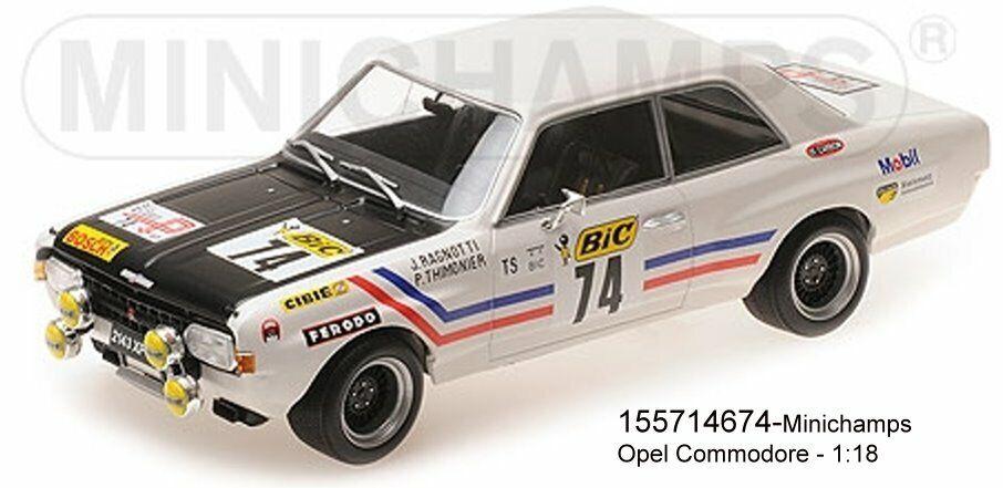 Minichamps - 155714674 - Opel Commodore a Steinmetz – Ragnotti Thimonier – 1 18