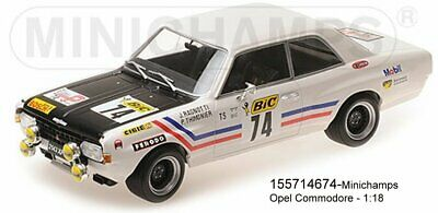 Opel Commodore a GS//e greder Tour de France 1971 Ragnotti 1:18 Minichamps nuevo