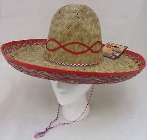 La imagen se está cargando Unisex-Sombrero-Mexicano-hombre-disfraz-de-paja -beige- bb7a73aa2a4