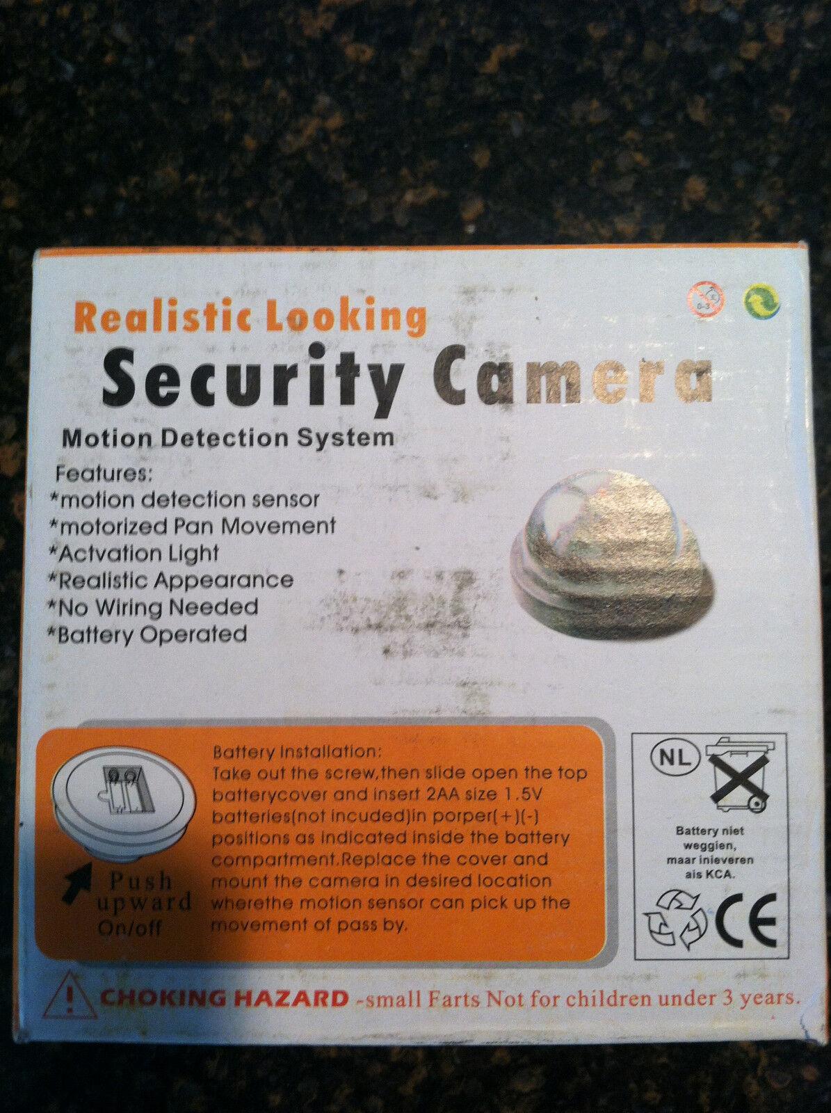 24 Lote 3.5  Falso Cámaras Realistic Apariencia Led de Seguridad Luz Trampa