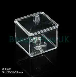 Cosmetic-Organizer-Clear-Acrylic-Makeup-Drawers-Holder-Case-Box-Jewelry-Storage