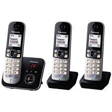 PANASONIC DECT Telefono senza fili kx-tg6823gb segreteria telefonica 3 parti mobili