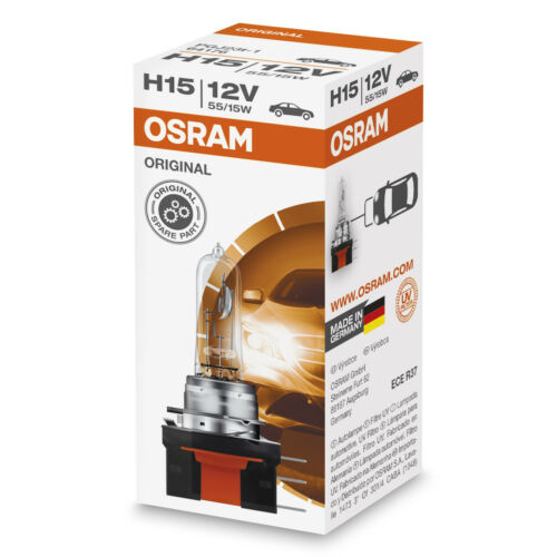 Osram H15 estándar reemplazo Headlight Bulbs 64176 single