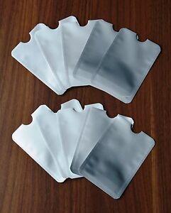 10x-RFID-Schutzhuelle-Blocker-Abschirmung-Personalausweis-Kreditkarte-NFC-Daten