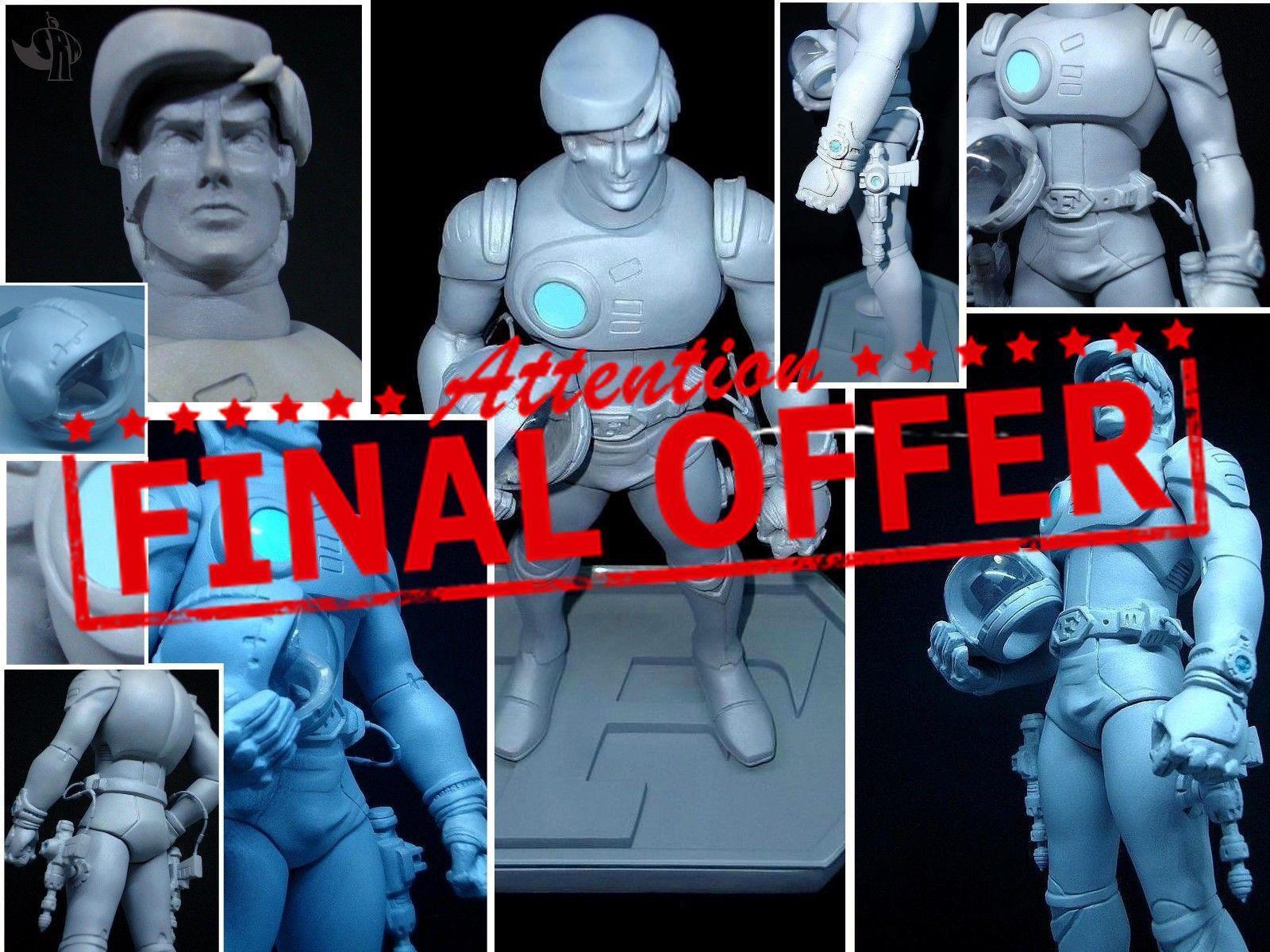 Capitan Futuro Capitaine Flam  resin kit 1 8 ver. 2.0 Special Edition