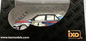 1/43 IXO SCR002 Lancia Delta Integrale 1989 Monte Carlo #4 Biasion & Siviero New