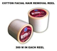 30 Reel Of Griffin Eyebrow Cotton Thread For Special Eyebrow & Face Hair Removal
