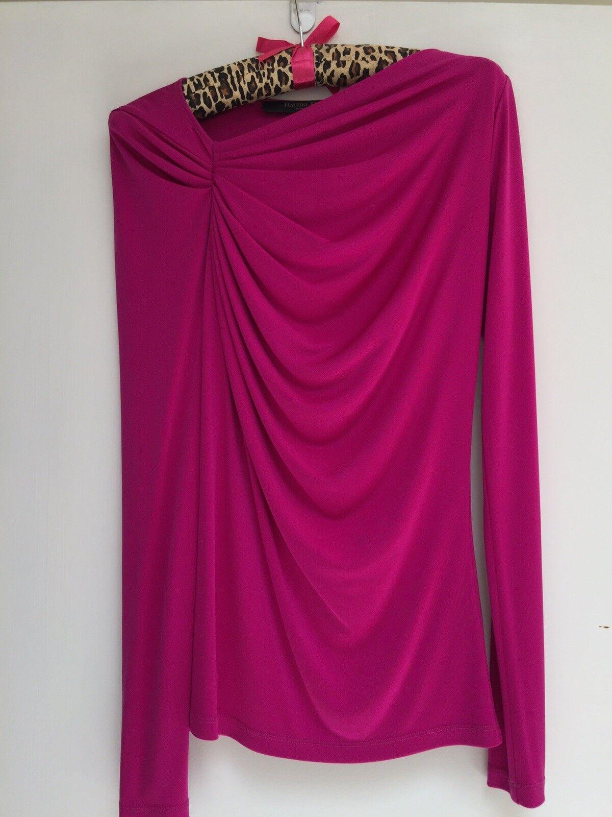 Rachel Roy Magenta Blouse Size XS