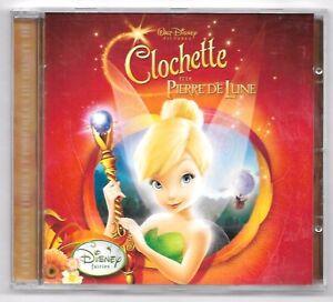 CD-CLOCHETTE-ET-LA-PIERRE-DE-LUNE-15-TITRES-WALT-DISNEY