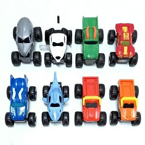 Mcdonald's Monster Jam Monster Truck Toy Cars MCDONALDS HAPPY MEAL TOYS x 8