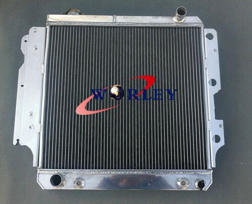 3 ROW ALUMINUM RACING RADIATOR for 1987-2006 JEEP WRANGLER YJ//TJ 2.4L-4.2L AT//MT