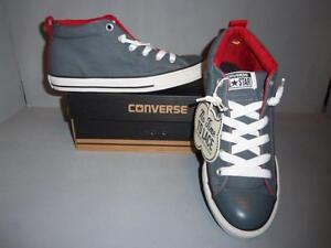 ff102ae475fe Converse Boy s Youth Chuck Taylor Street Mid Top Shoes SIZES NIB ...