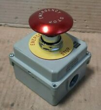 Cutler Hammer 10250t91000t Emergency Stop Push Button Amp Enclosure F127