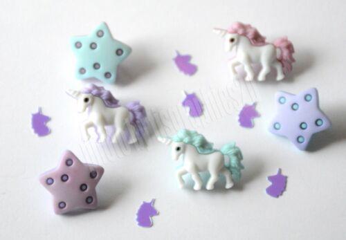 Fairy Tale Unicorn Glitter Unicorns /& Stars Shank Back Unicorn Party
