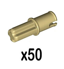 50 Lego AXLE PINS without Friction Ridges (technic,ev3,connector,car,pin,smooth)