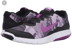 quality design 502ea 0b161 4 Las zapatillas 5 Black Vivid White Flex Nike Experience Purple 11 Rn  nuevas Sneakers rr06qUw