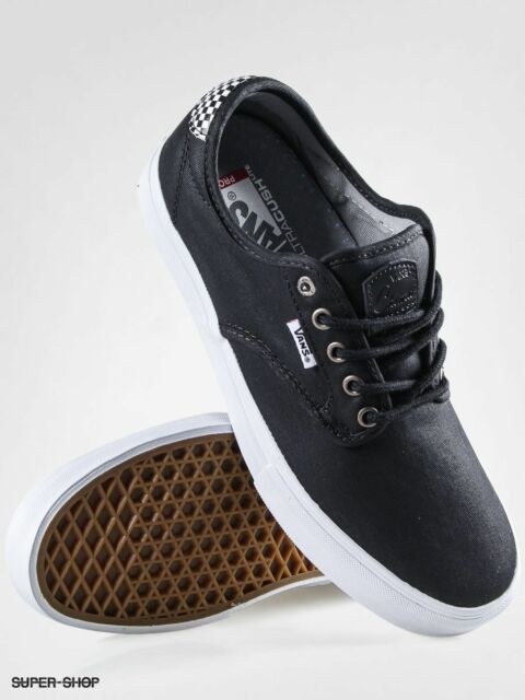 728ff9f4f279 Vans Chima Ferguson Pro Waxed Twill Black Checkers Men s Skate Shoes  Size11.5