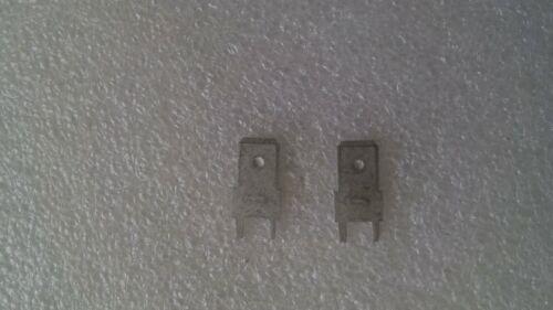 gerade Länge 15,8 mm- verzinnt NEU 2 x Leiterplatten-Flachstecker
