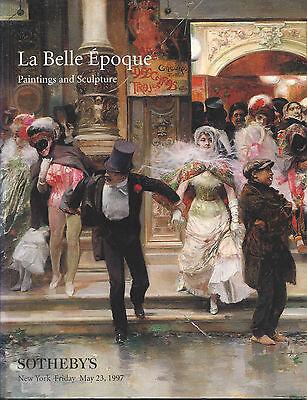 SOTHEBY'S La Belle Epoque 19C ART Abbema Beraud Gerome Raffaelli Catalog 1997