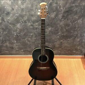 Ovation Celebrity Cc01 Brown Sunburst Acoustic Guitar Ebay