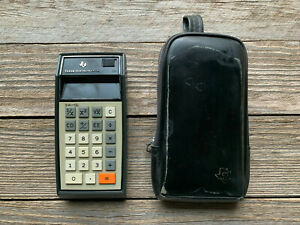 Vintage-Texas-Instruments-SR-10-Slide-Rule-Calculator-1973-w-Case-Sweet