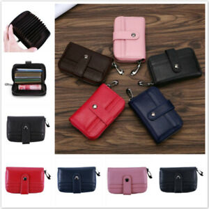 Womens-Faux-Leather-Wallet-Pocket-Card-Holder-Billfold-Clutch-Certificate-Bags-B