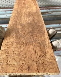 Roasted-Birdseye-Calico-Maple-4-5-String-Bass-Fretboard-30-X-4-X-30-Dense