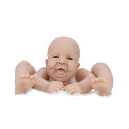 "DIY Unpainted Reborn Baby Doll Kits For 10/""-22/"" Soft Vinyl Supplies Dolls Xmas"