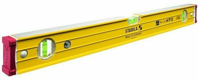 Stabila BOX FRAME RIBBED SPIRIT LEVEL 800mm 3-Vials *German Made