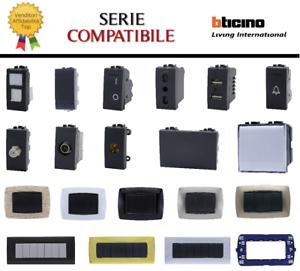 ✅ SERIE BTICINO FRUTTI LIVING international compatibile connettore placca schuko