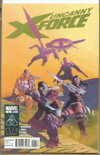 Uncanny XForce 2010 series # 6 near mint comic book