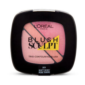 3-X-L-039-OREAL-INFALLIBLE-BLUSH-SCULPT-TRIO-POWDER-CONTOUR-BLUSH-201-SOFT-ROSY