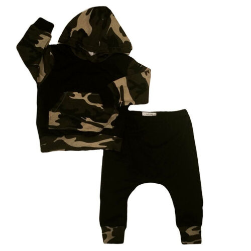 Baby Jungen Kapuzenpullover Hoodie Sweatshirt Sweatpants Hose Trainingsanzug Set