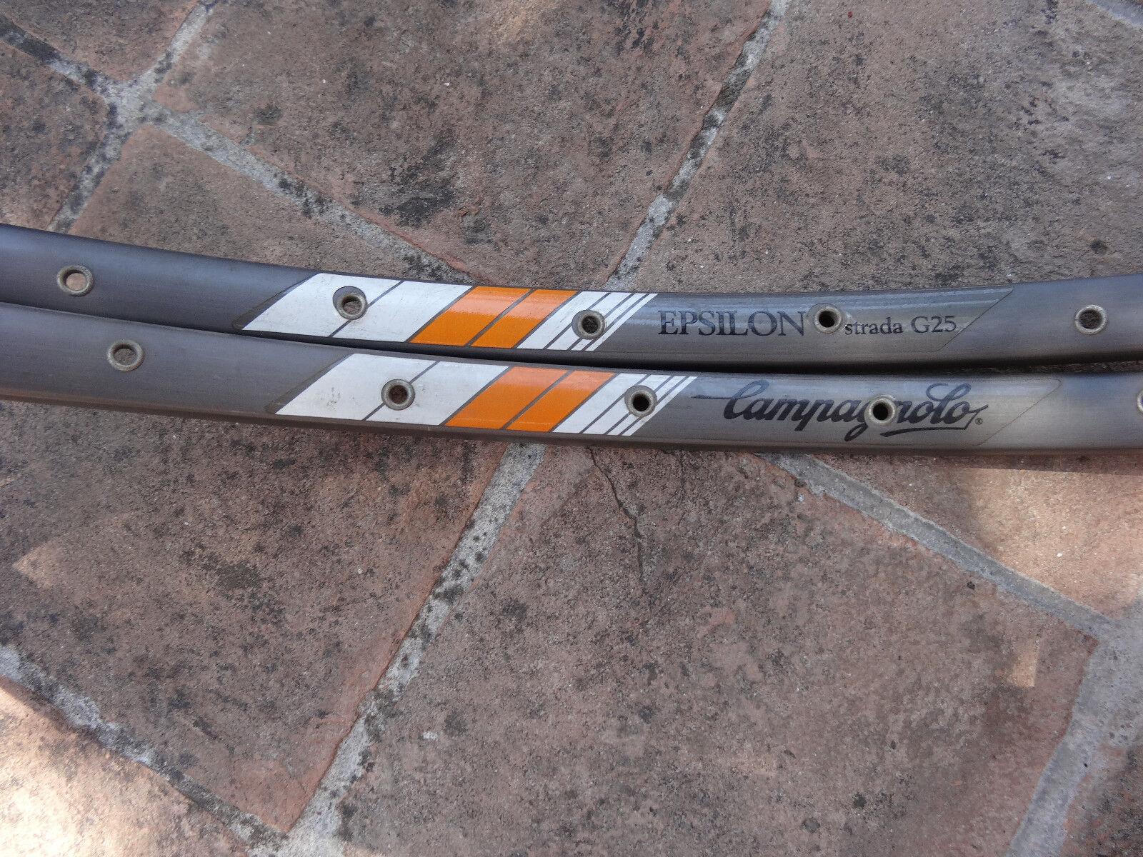NOS  Campagnolo Epsilon strada G25 pair tubulars 32 hole