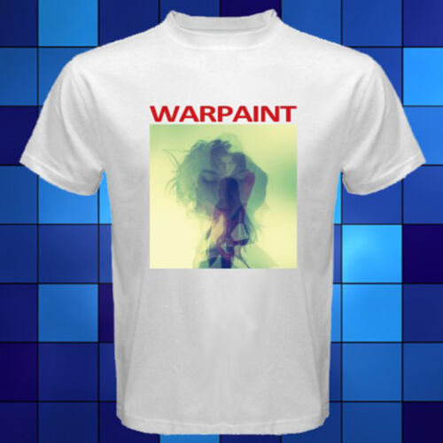 New Warpaint Rock Band Album White T-Shirt Size S M L XL 2XL 3XL