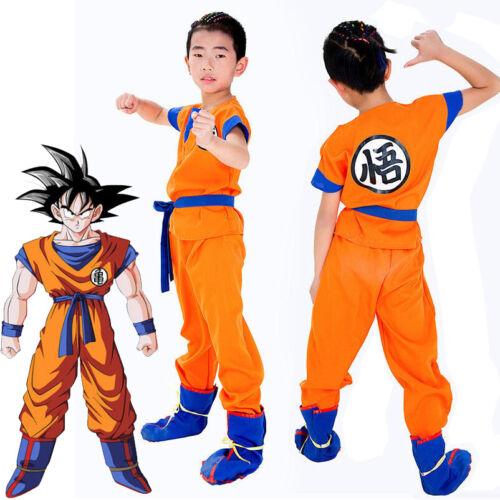 Costume Dragon Ball Enfants adultes anime Halloween Cosplay Costume Fête FR Ship