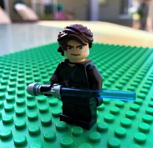 LEGO Star Wars Anakin Skywalker Clone Wars Version w/ Lightsaber ...