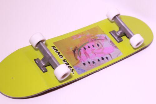 HANDBROS Hand board 10 inch hand skateboard tech 27cm finger board toy W GRIP